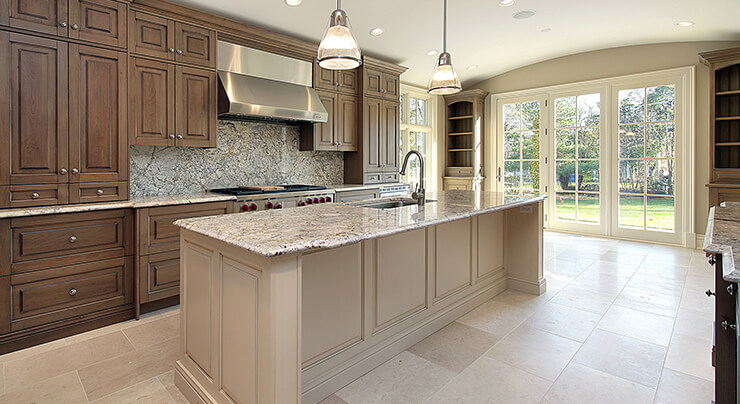 backsplash, cabinets, countertops, flooring – which do you choose