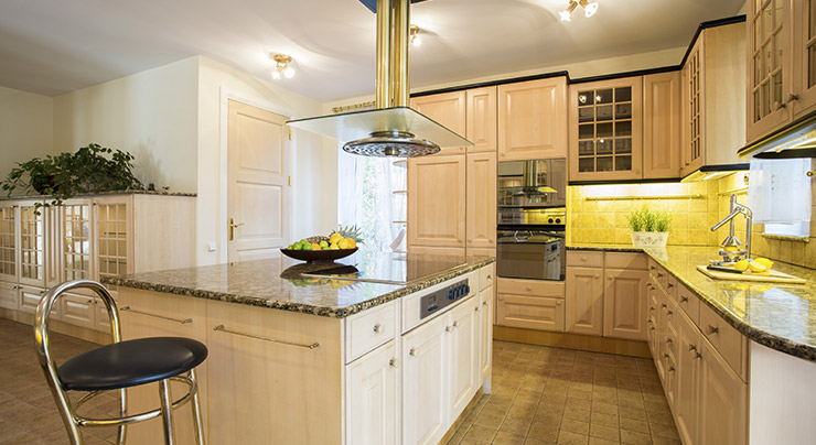 Back In The 1980s Granite Countertop Were Limited To Homes In Exclusive  Neighborhoods. These Homes Came To Be Known As McMansions Due To Their Size  And ...