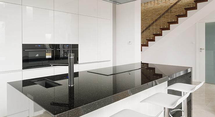 How To Care For Your Black Galaxy Granite Classic Granite Kitchen Countertops Richmond Va