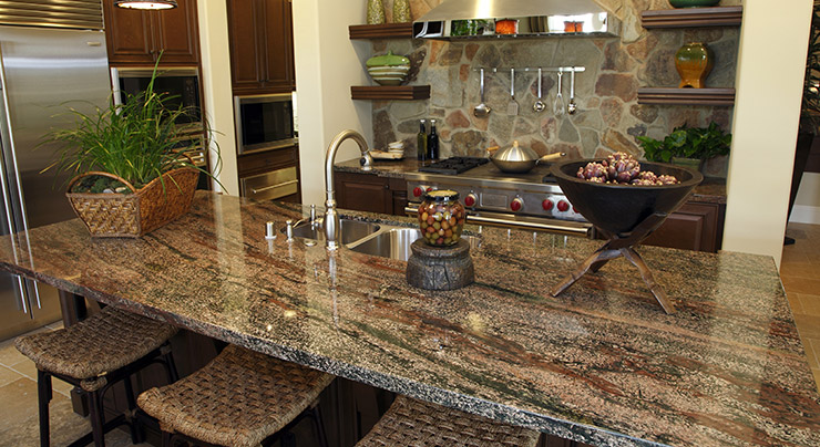 Gentil Granite Is One Of The Most Popular High End Countertop Materials Used In  Homes Across The Country. To Get Into A Kitchen, It Must Be Quarried, Cut,  ...