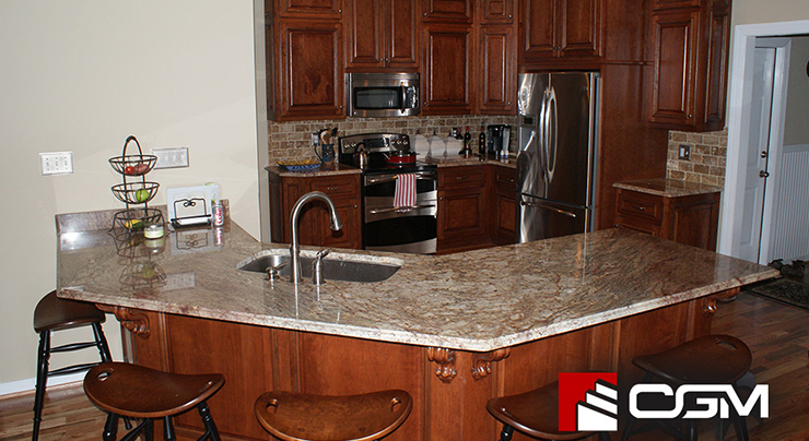 Granite Countertop Ideas For Your European Style Kitchen Classic Granite Kitchen Countertops Richmond Va