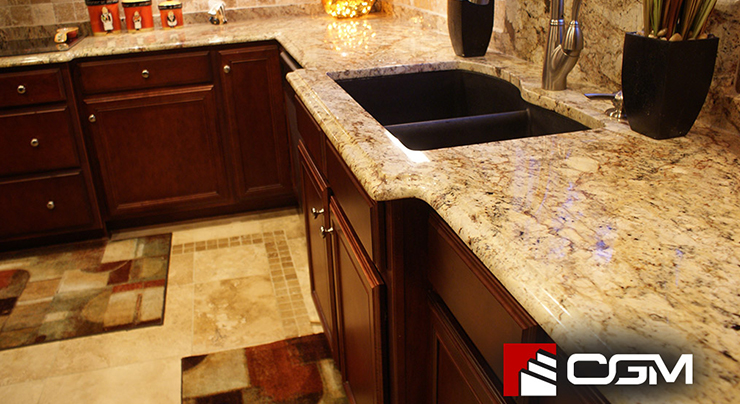 granite or quartz what s the big diff classic granite kitchen countertops richmond va. Black Bedroom Furniture Sets. Home Design Ideas