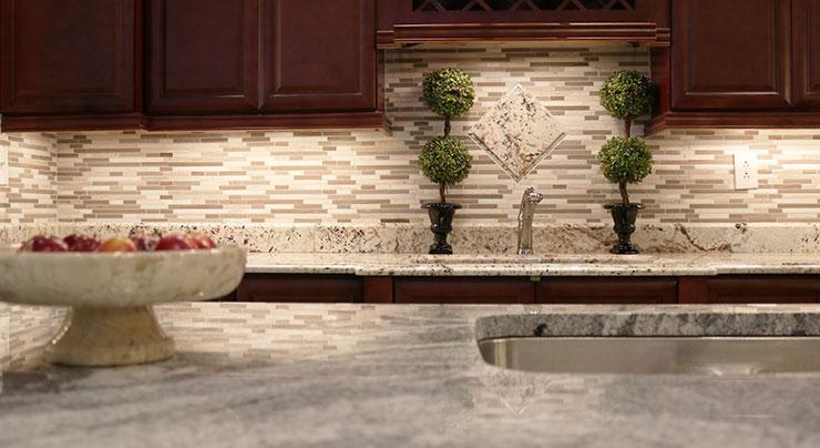 Granite And Tile A Match Made In The Kitchen Classic Granite Kitchen Countertops Richmond Va